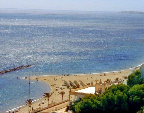 Plage d'Aguadulce, Almería (Andalousie)