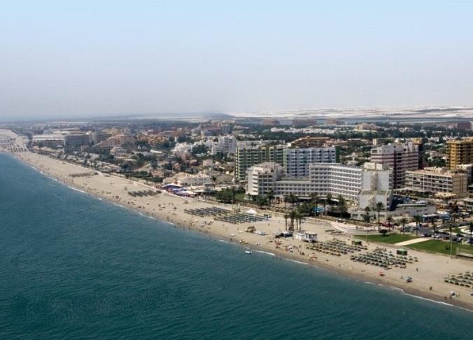 Plage de Roquetas de Mar, Almería (Andalousie)