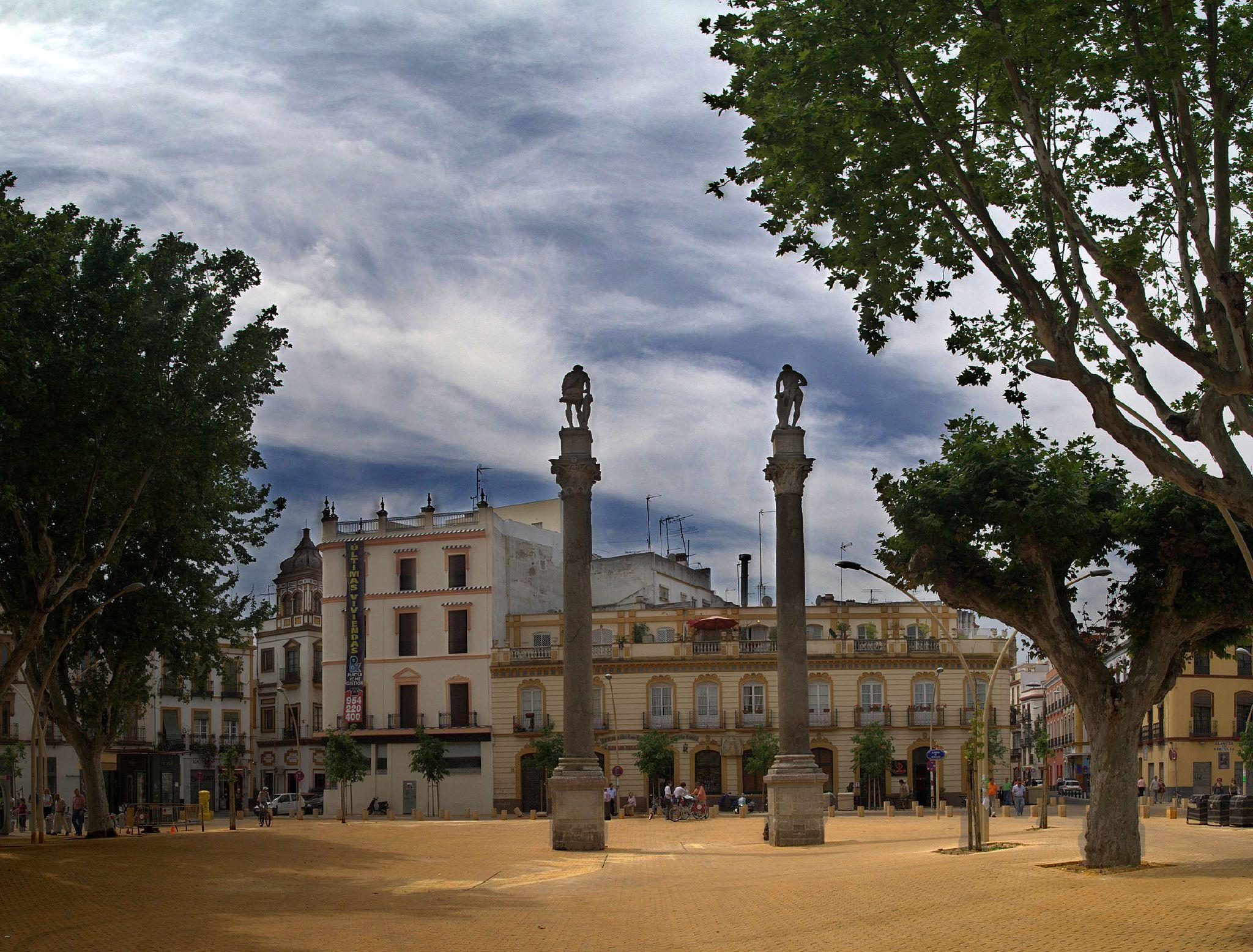 S ville en 3 jours visiter l andalousie - Jardines de hercules sevilla ...