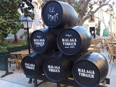 barricas vino malaga