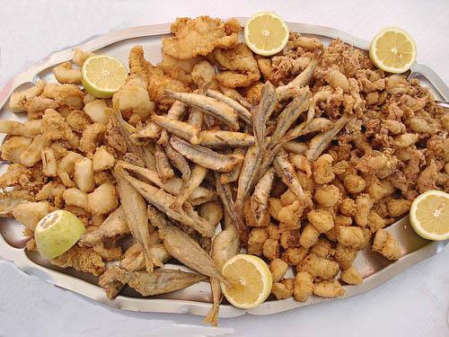fritura de pescado