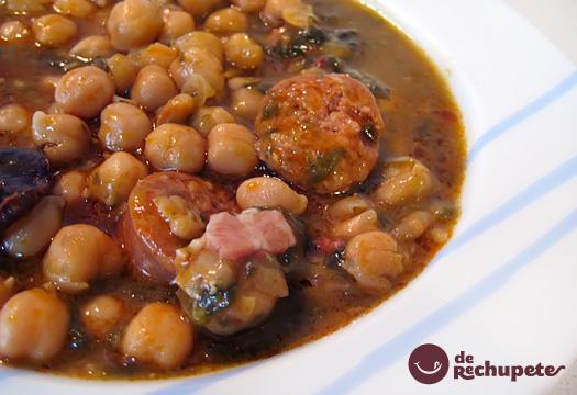Sp cialit s culinaires andalouses visiter l andalousie - Potaje de garbanzos y judias ...